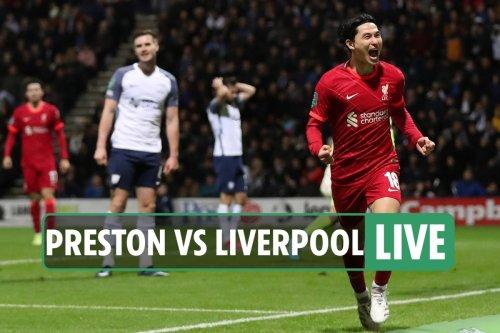 Preston vs Liverpool LIVE: Follow all the latest from EFL Cup clash