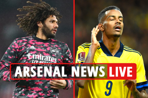 Arsenal news LIVE: Elneny sale LATEST, Isak eyed to replace Lacazette, Luka Jovic potential move - transfer updates