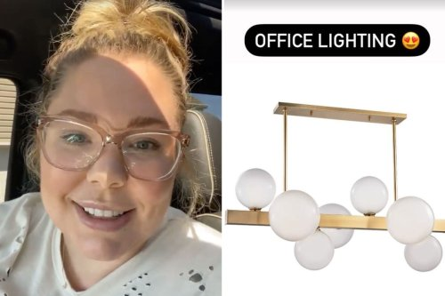 Teen Mom Kailyn Lowry shows off light fixtures for new dream mansion