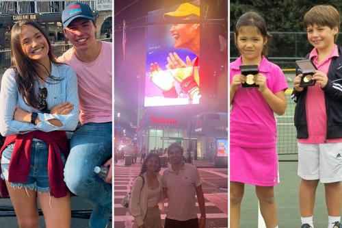 Raducanu poses in New York with long-time friend who was by her side for US Open