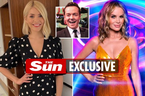 What Holly Willoughy & Amanda Holden are REALLY like - Stephen Mulhern lifts lid