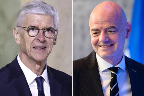 Wenger's two-year World Cup plan DEAD after Infantino bows to pressure