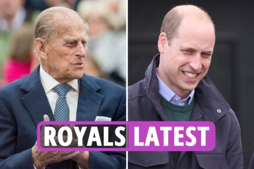 William shares HILARIOUS anecdote about Prince Philip