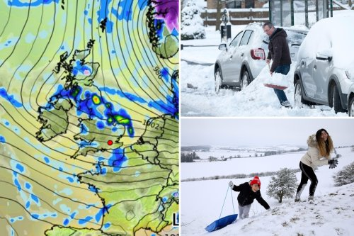 Snow is on the way in ARCTIC BLAST from 'off kilter polar vortex' hits Britain