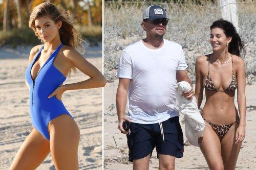 Leonardo DiCaprio's girlfriend Camila Morrone wows in blue swimsuit