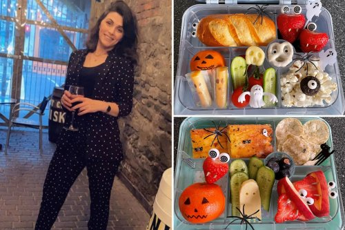 Mum proudly shows off kids' Halloween lunchboxes - but gets savaged by trolls