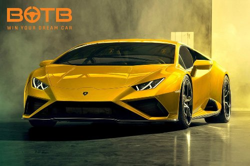 Win a Lamborghini Huracan Evo RWD worth £164,000 plus £50,000 in cash with BOTB