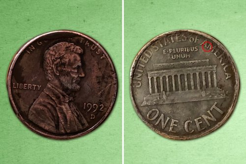 Rare 1992 Close AM Lincoln penny coin sells for $244 - how to spot one
