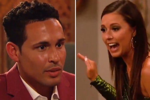 Bachelorette Katie accuses contestant Thomas of joining show 'for FAME'