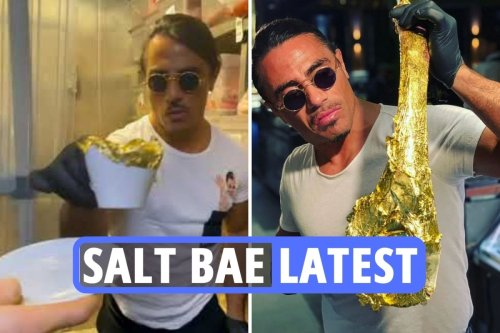 Salt Bae's 'insane' £50 gold cappuccino leaves fans all saying same thing