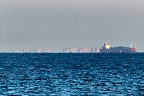 Mysterious 'floating city mirage' off English coast baffles viewers