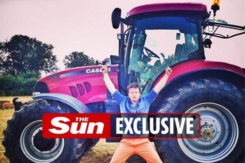 Jamie Oliver finds stolen tractor after 'cops snub investigation'