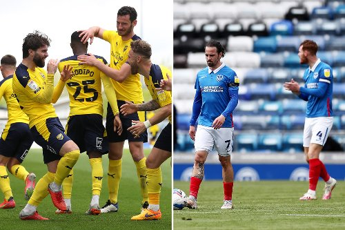 Portsmouth blow play-off hopes as Oxford sneak into top six & Charlton miss out