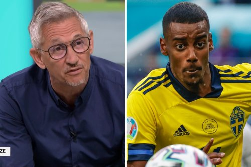 Isak asks if Lineker is 'old player working in the studio' after praise of Swede