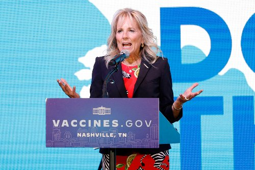 Jill BOOED for slamming TN vaccine rate and insists 'you're booing yourselves'