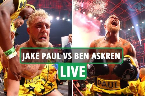 Jake Paul vs Ben Askren LIVE RESULT: Problem Child wipes out rival with brutal first round KO - latest reaction
