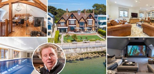 Harry Redknapp's former Sandbanks mansion sells for £10million in new record