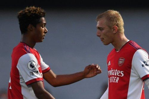 Arsenal U23s smash Chelsea 6-1 despite going down to 10 men after 35 mins