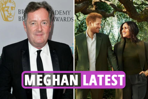 Duke and Duchess' Time Mag cover mocked by Piers as Harry enjoyed birthday