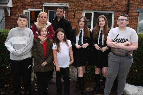 Family of 8 on brink of homelessness with house set to be DEMOLISHED
