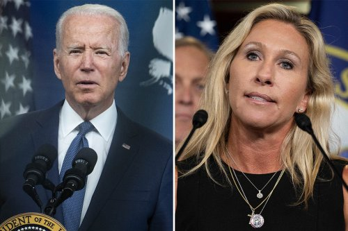 QAnon rep slams Biden 'brown shirts' in another Nazi reference