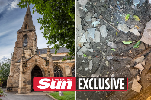 Thieves flee Scots graveyard after 'smashing open tomb filled with skeletons'
