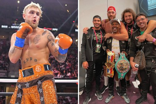 Fury and brothers would 'batter' Tommy and 'retire him' if he lost to Jake Paul