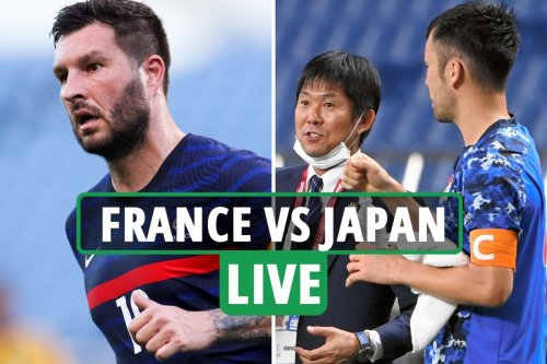France vs Japan LIVE: Follow all the latest from crucial Olympic football clash