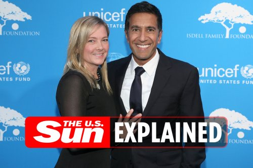 Who is Sanjay Gupta's wife Rebecca Olson Gupta?