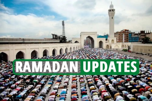 Ramadan 2021 updates - Latest Prayer and fast times as British Muslims urged to remain Covid safe over next few weeks