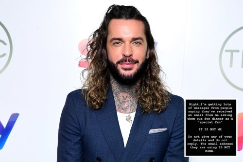 Towie's Pete Wicks targeted by scammers asking people out on dates in his name