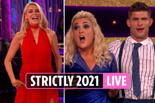 Strictly Come Dancing 2021 live show kicks off with emotional opening