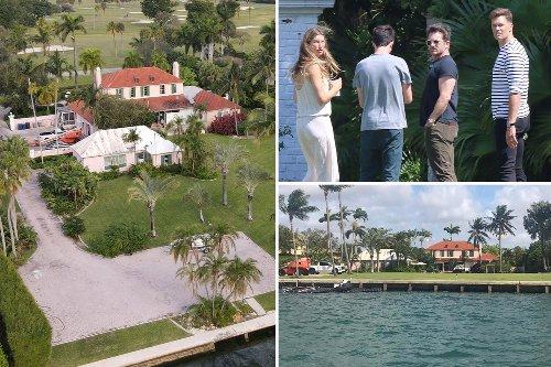Tom Brady & Gisele tour new $17M mansion on Miami's 'Billionaire Bunker'