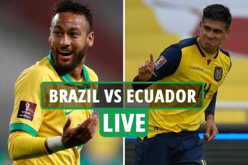 Brazil vs Ecuador: Live stream, TV channel, team news and kick-off time