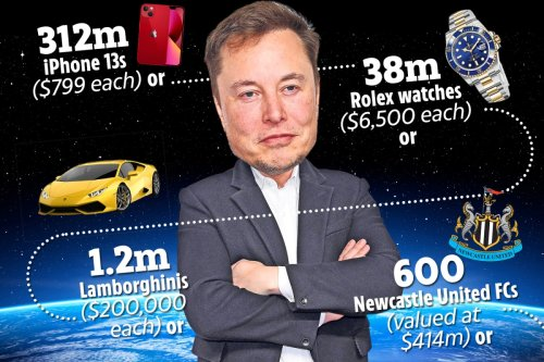 Elon Musk is now worth quarter of a TRILLION dollars – here's what he could buy