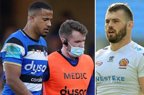 England stars ruled out of autumn with serious knee and ankle injuries