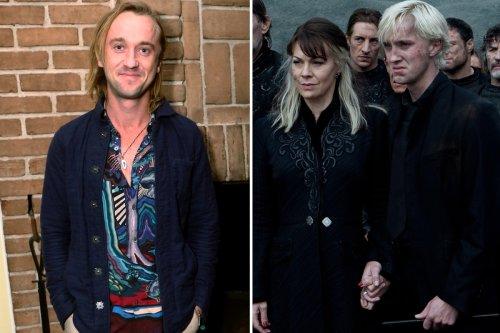 Harry Potter star Tom Felton pays heartbreaking tribute to Helen McCrory