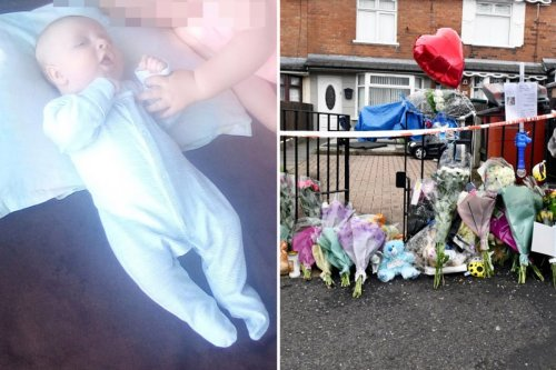 'It was meant to be his christening, now it's a funeral', says sister