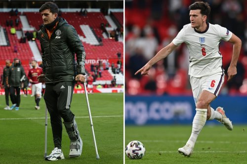 Maguire back after ditching protective boot and boosts England's Euro 2020 hopes