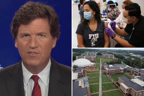 Tucker Carlson slams colleges for forcing students to get Covid vaccine