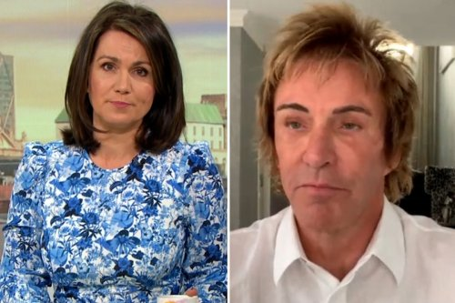 Susanna Reid rows with GMB guest over claim he's a 'vaccine-denier'