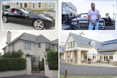 Tyson Fury and Conor McGregor compared with Gypsy King living modestly in Morecambe and UFC legend splashing the cash