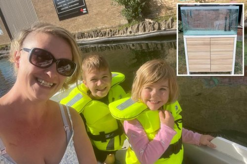Furious mum fined £400 for not carrying aquarium stand inside fast enough