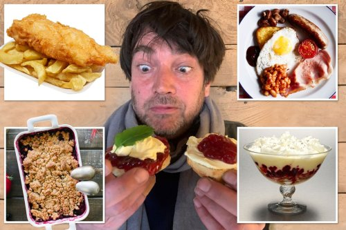From fish and chips to cream teas this is the RIGHT way to eat British food favourites