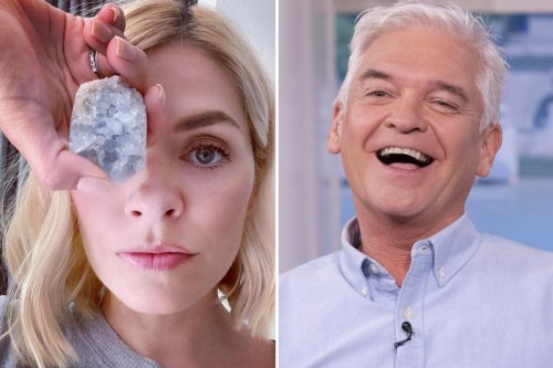 Holly Willoughby got Phillip Schofield 'obsessed with crystals' & 'spirituality'