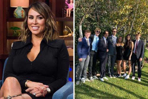 RHOC's Kelly slammed for posting pics of 'huge high school boys' at homecoming