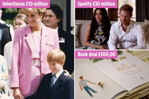 The ways Prince Harry & Meghan Markle have kept estimated £162m fortune
