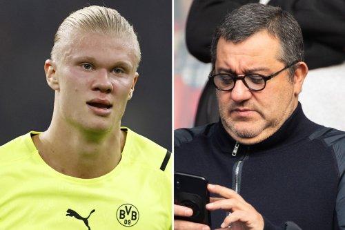 Haaland snubbed Man Utd to join Dortmund for LESS money on Raiola's advice