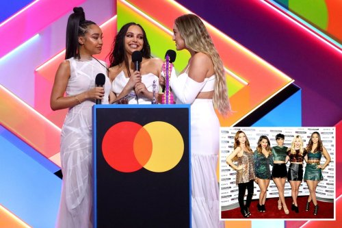 Little Mix's Perrie Edwards admits The Saturdays were cut from Brits speech as she's confronted by Mollie King