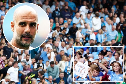 Man City fans pack Etihad for clash with Southampton after Guardiola's plea